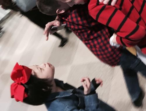 Joy at Airport