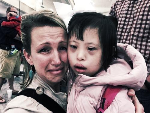 Tears at Joy's Farewell