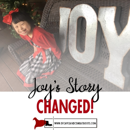 Joy's Story Changed!