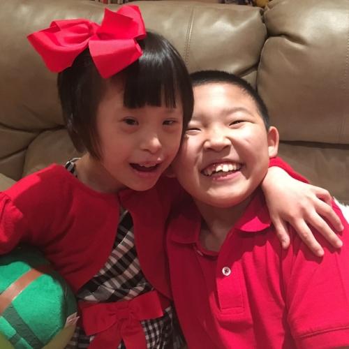 Joy and J.J. Christmas Eve