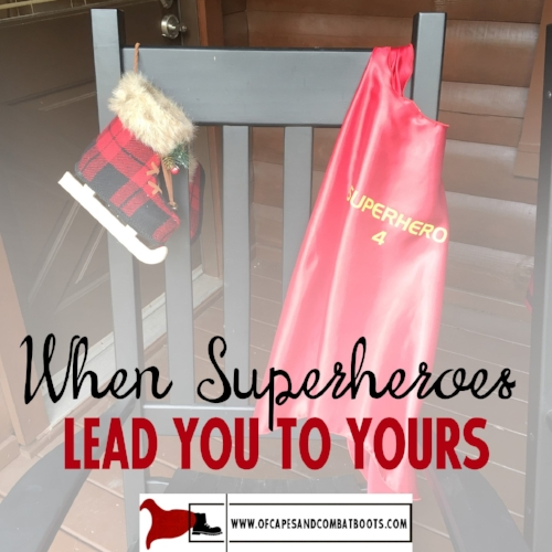When Superheroes Lead You to Yours