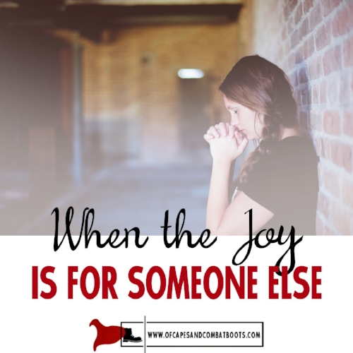 When the Joy is for Someone Else