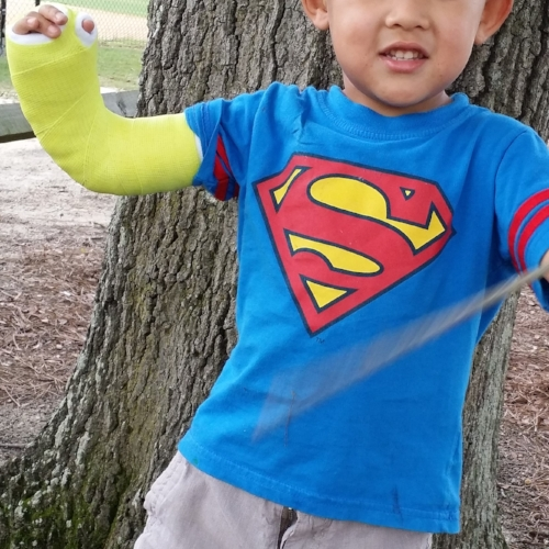 Superman in Cast