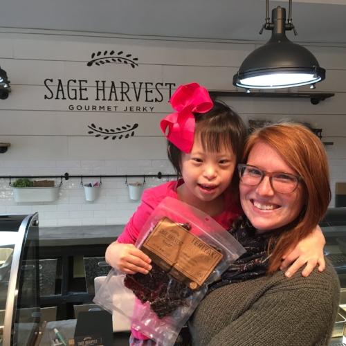 Joy at Sage Harvest
