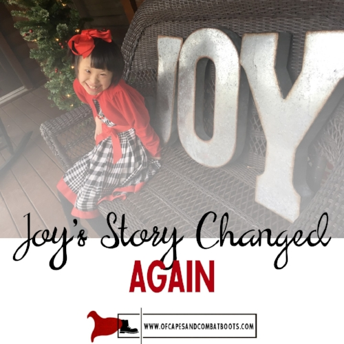 Joy's Story Changed AGAIN