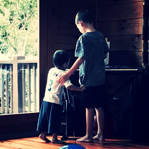 Piano with Brothers