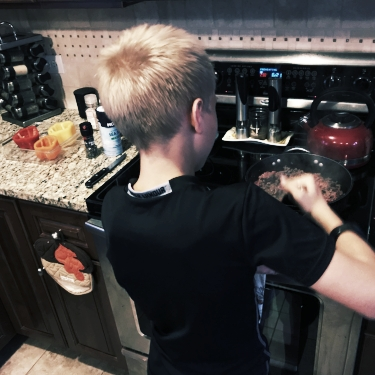 Superhero 1 in the Kitchen