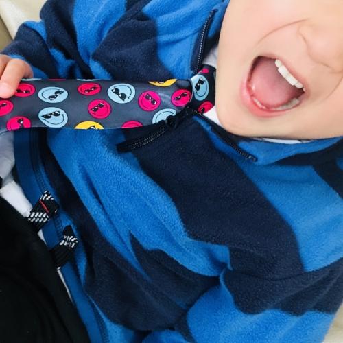Superhero 4 Smiley Tie