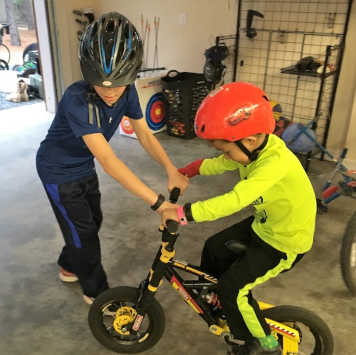 Teaching Superman to Ride a Bike