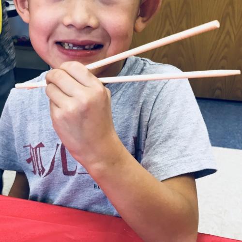Superman's Chopsticks