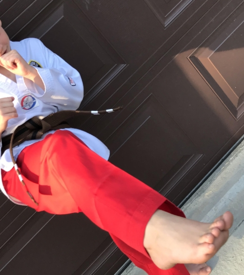 TKD Red Pants