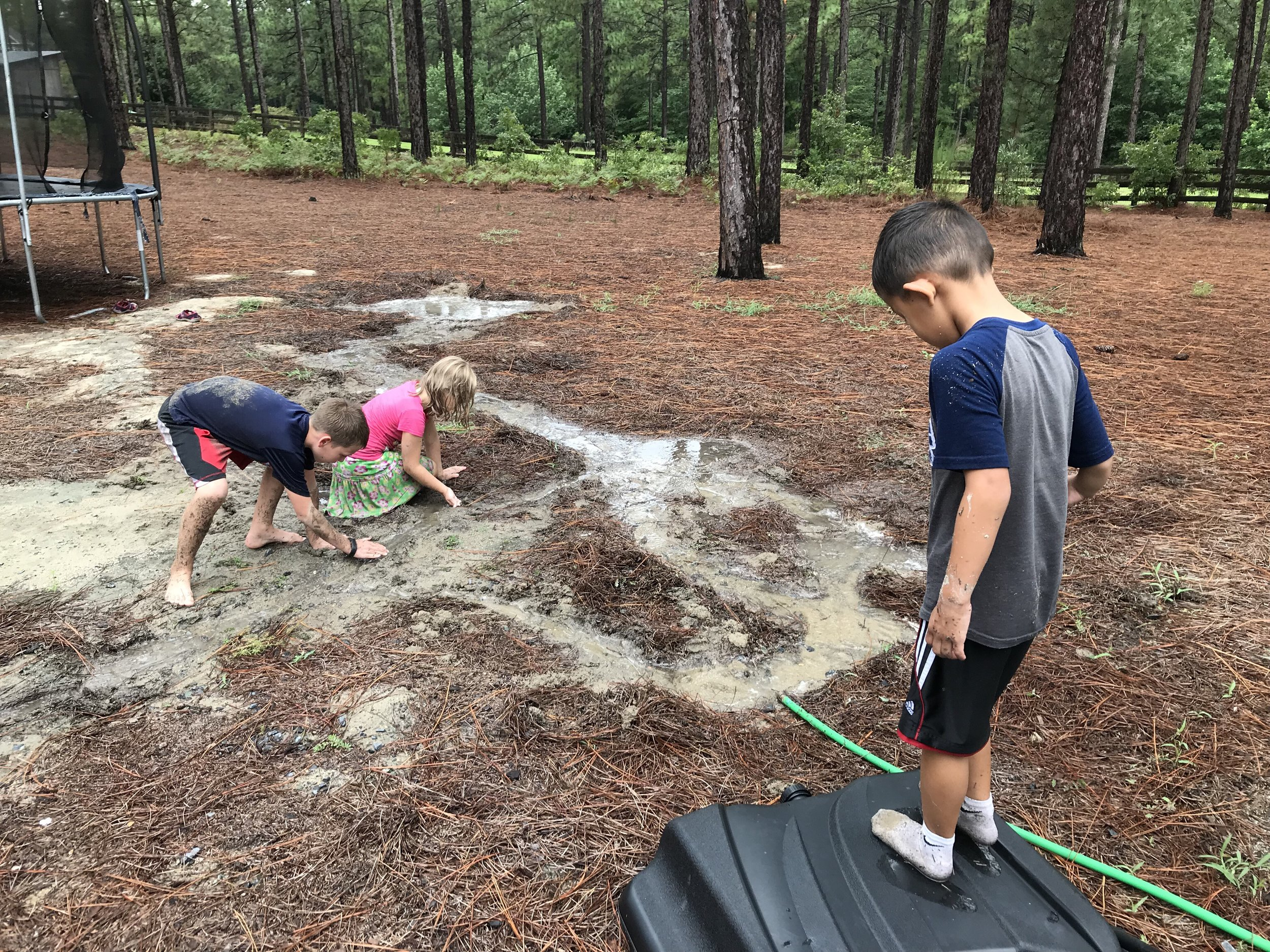 Digging Trenches