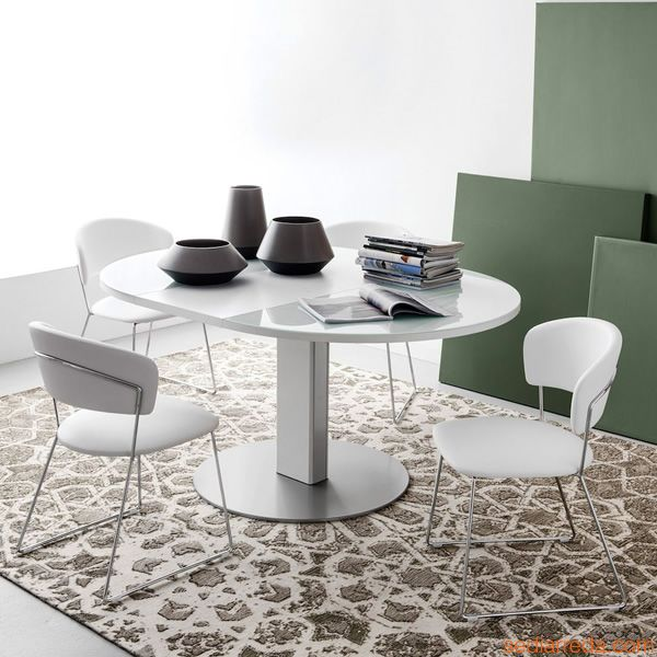 Tavolo Allungabile Vetro Calligaris.Room Scenes Casual Dining Living Quarters
