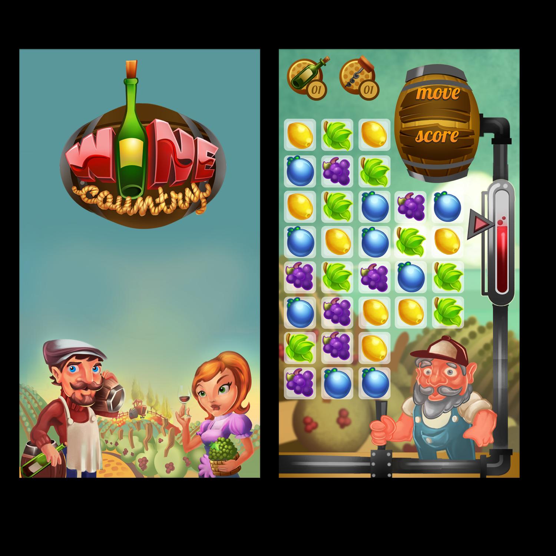 Start Screen & Gameplay
