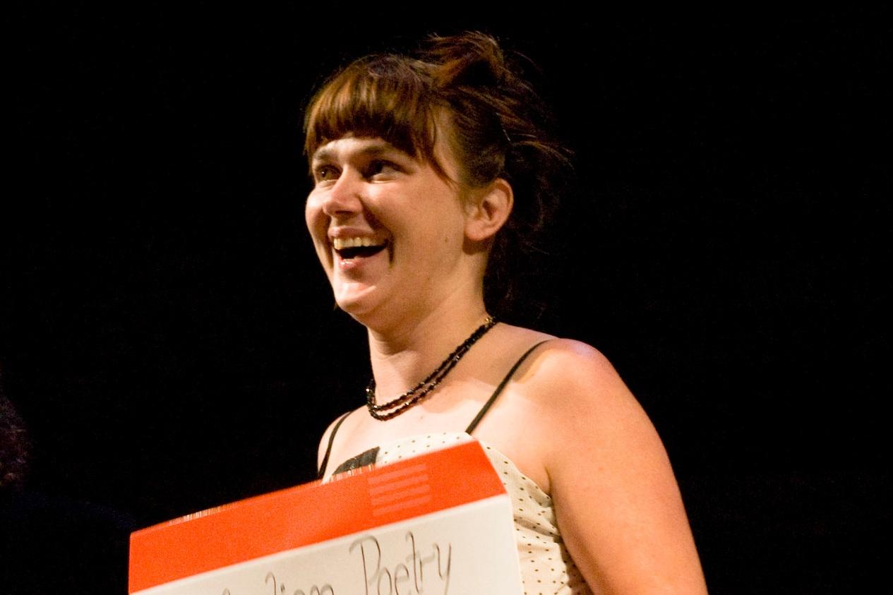 Kelly-Lee Hickey , 2010 Australian Poetry Slam Champion.