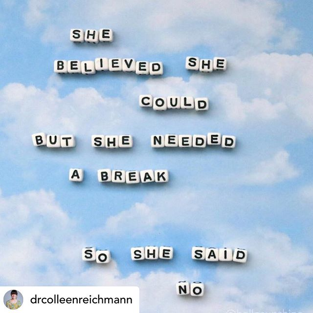 In a world that says 'it's never enough,' remember that the need for rest is not a character flaw. So raise your coffee (or tea) and say it again with me, the need to rest is not a character flaw!! Let's be human together today and slow it down.  #repostapp @drcolleenreichmann #slefcare #sunday #recovery #nourish #slowdown