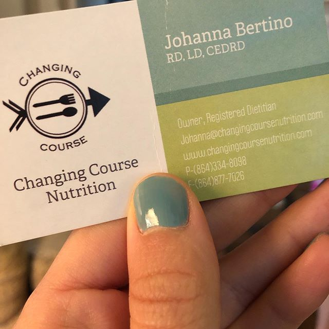 When your nails match your new business cards and color scheme 👏👏💯
