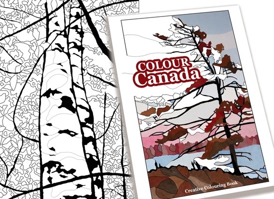 The cover of Colour Canada