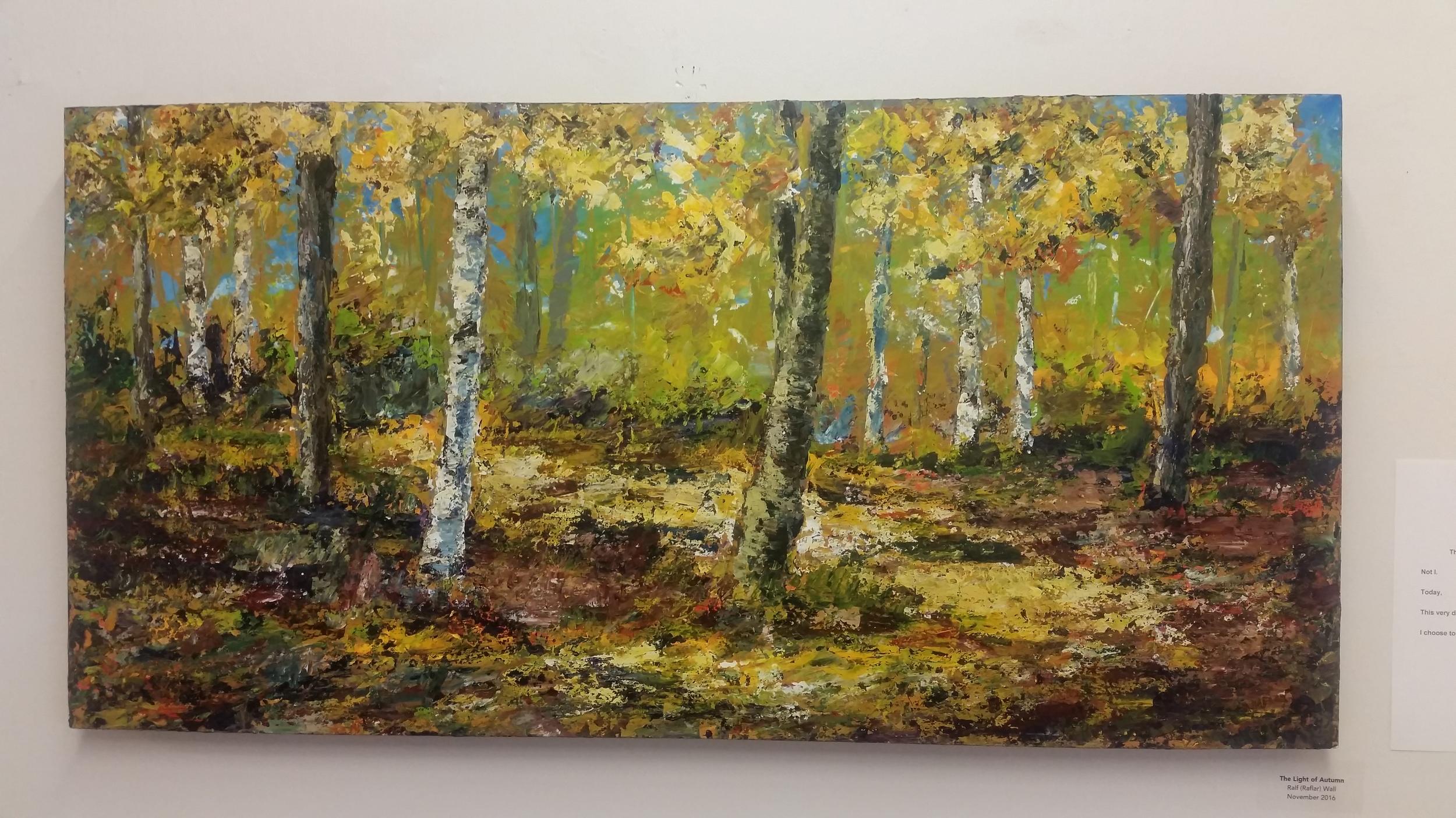 The Light of Autumn by Ralf (Raflar) Wall