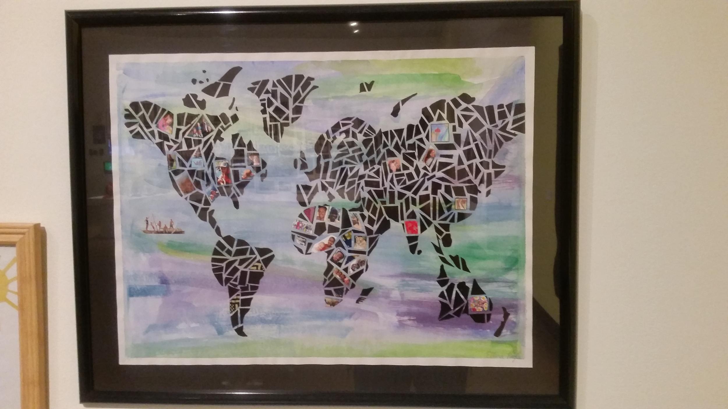 My Adventures in the World by Ellena Riegle (KWCHEA, Grade 6)