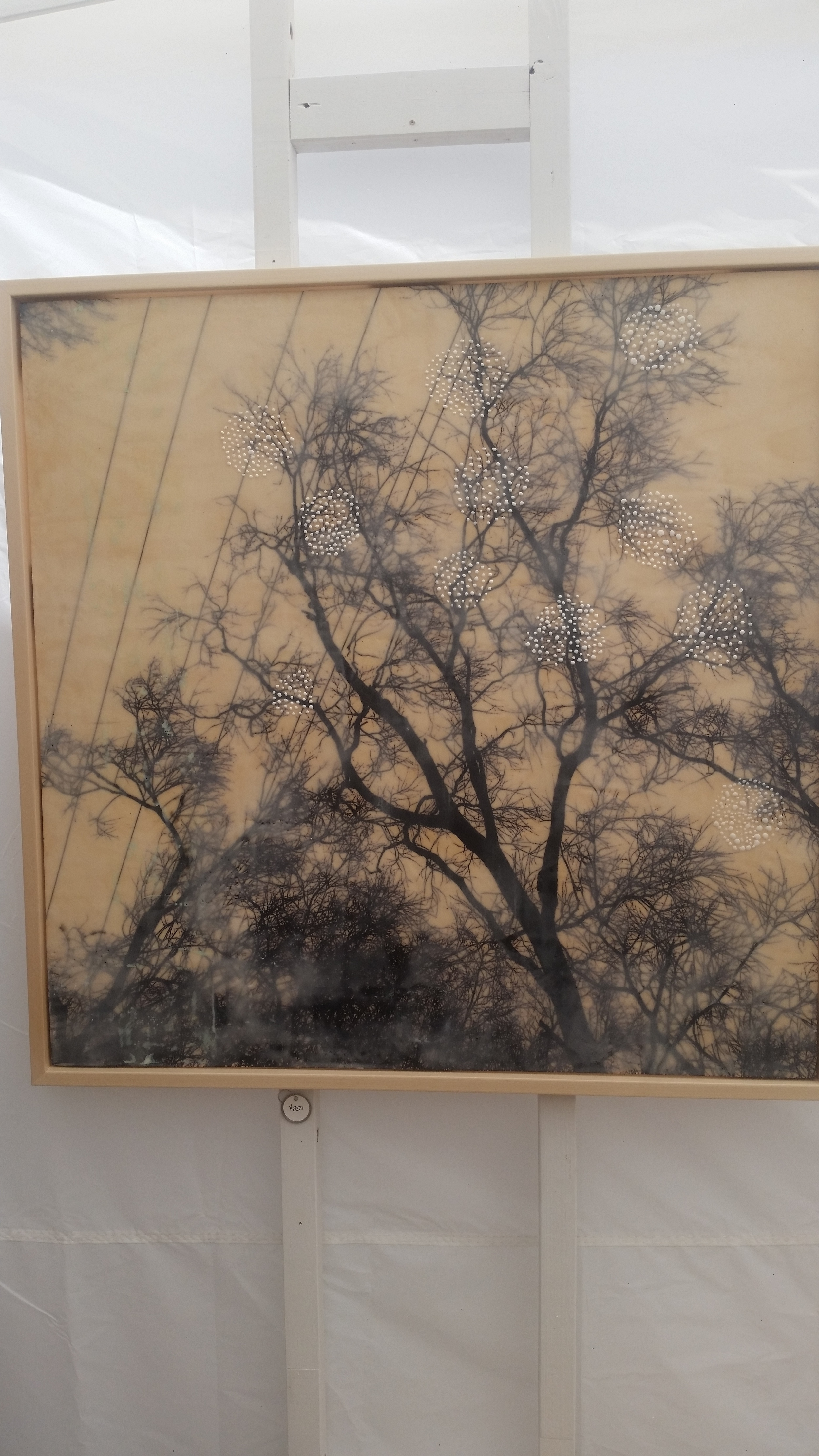 Artwork by Sandy Middleton Photography, encaustic mixed media