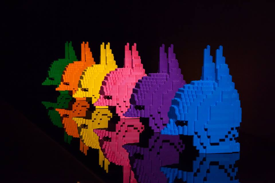 Image from The Art of the Brick Facebook Page