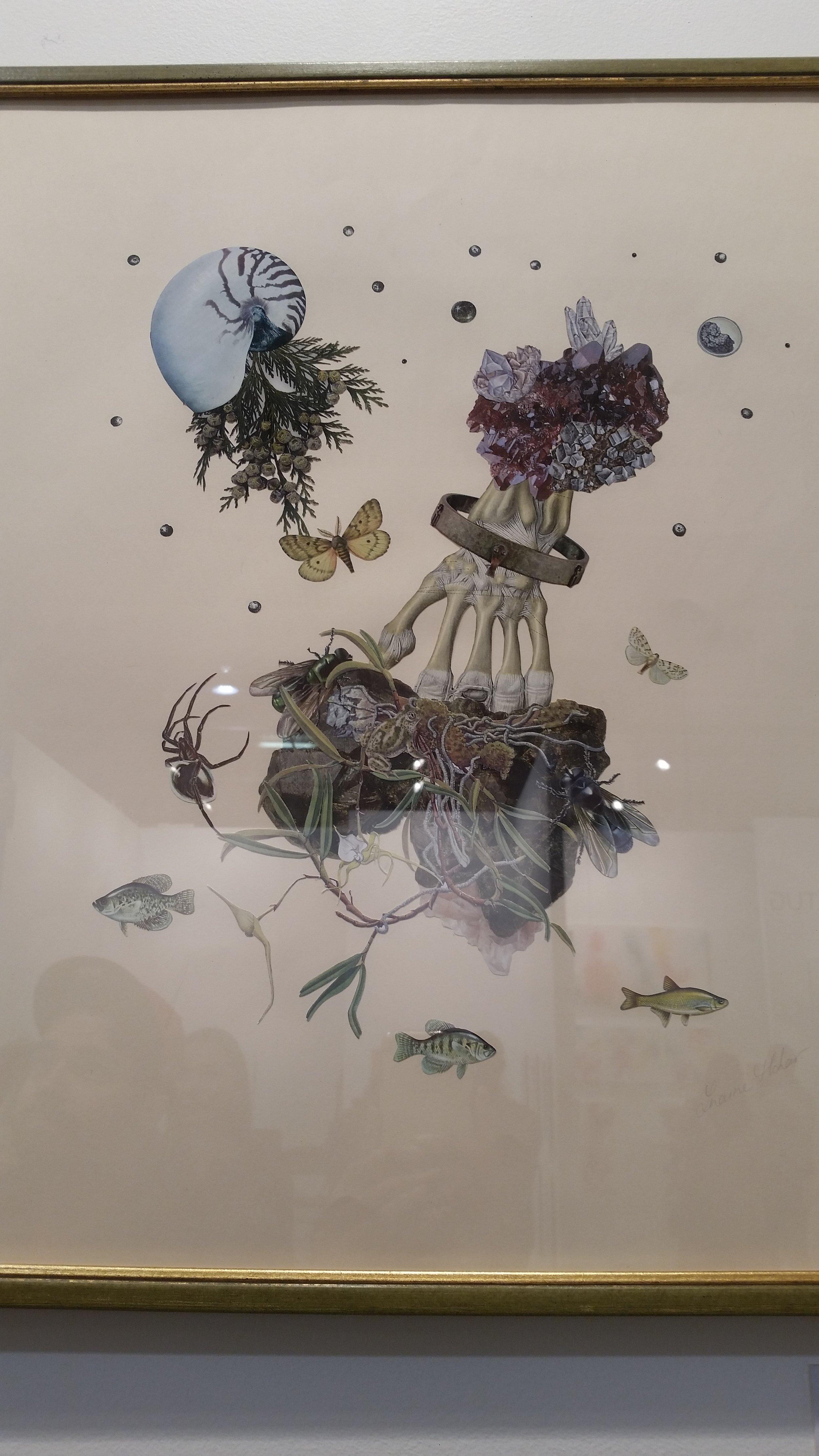 Fine art collage by Loraine Mohar