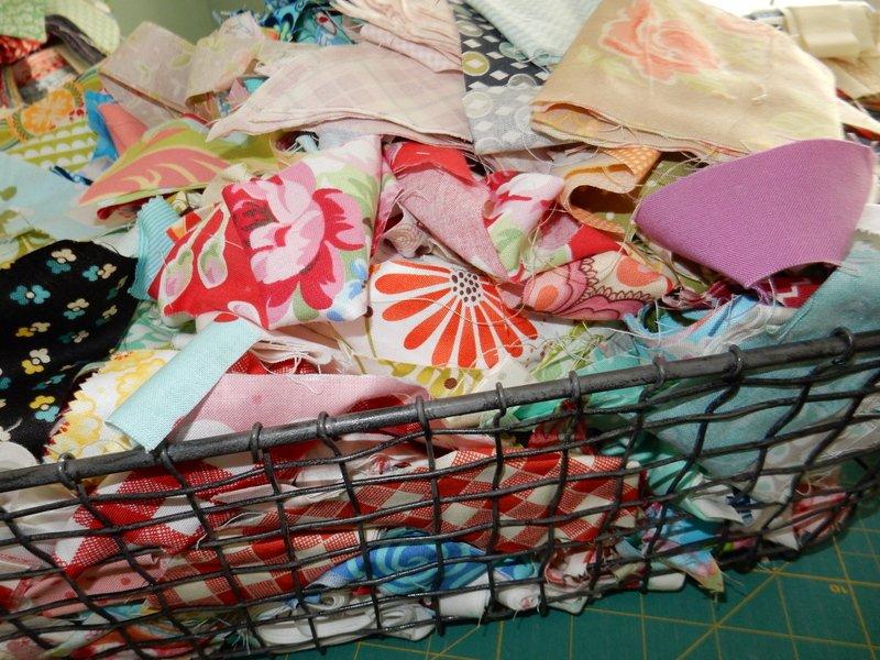 Material Scrap Pile