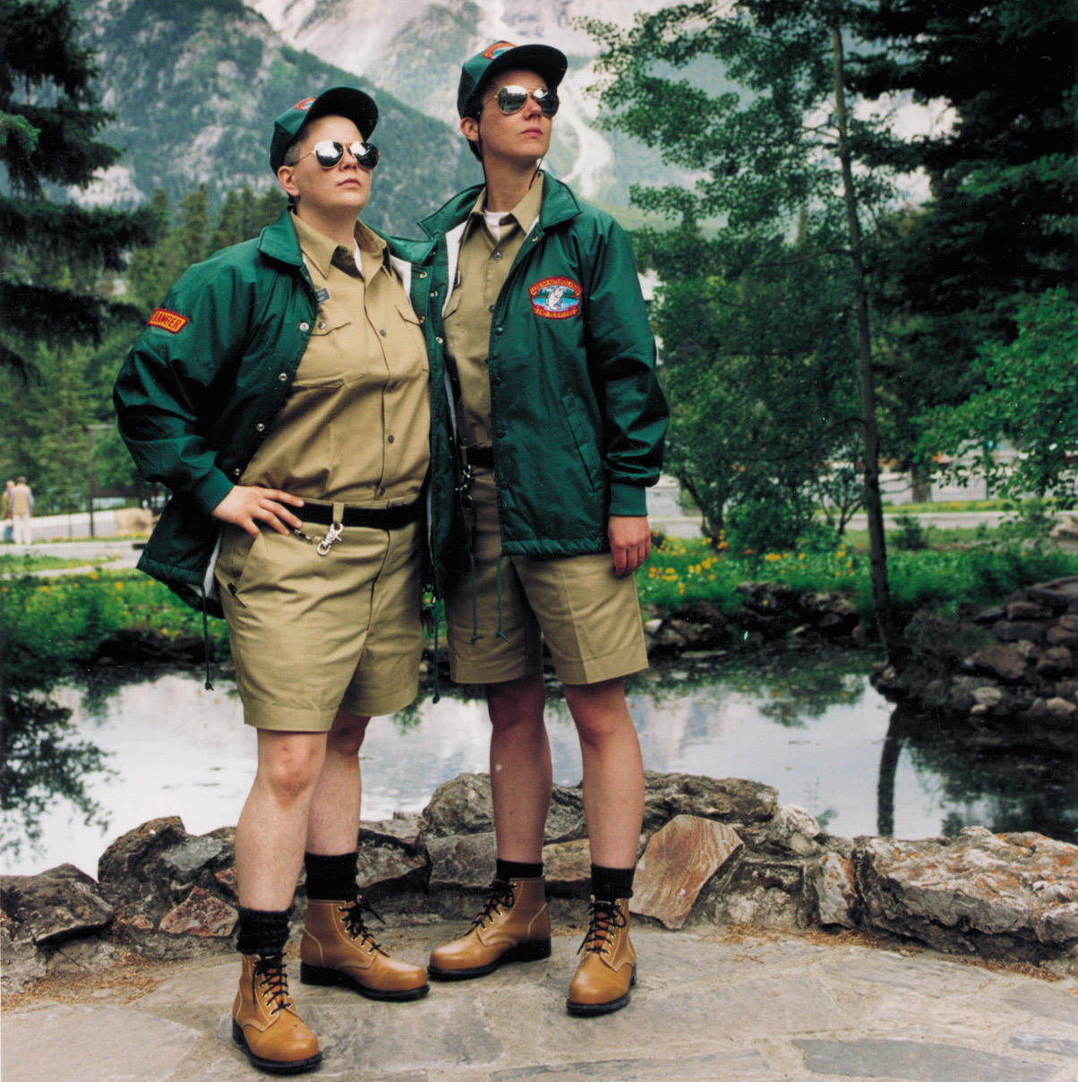 Lesbian National Parks and Services, Shawna Dempsey & Lorri Millan, 1997