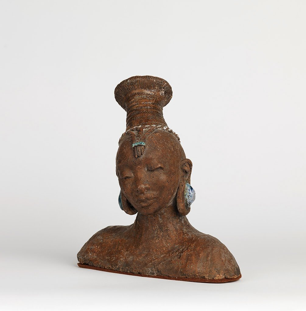Beulah Ecton Woodward, African Woman. Photo Credit:  Swann Aucton Galleries