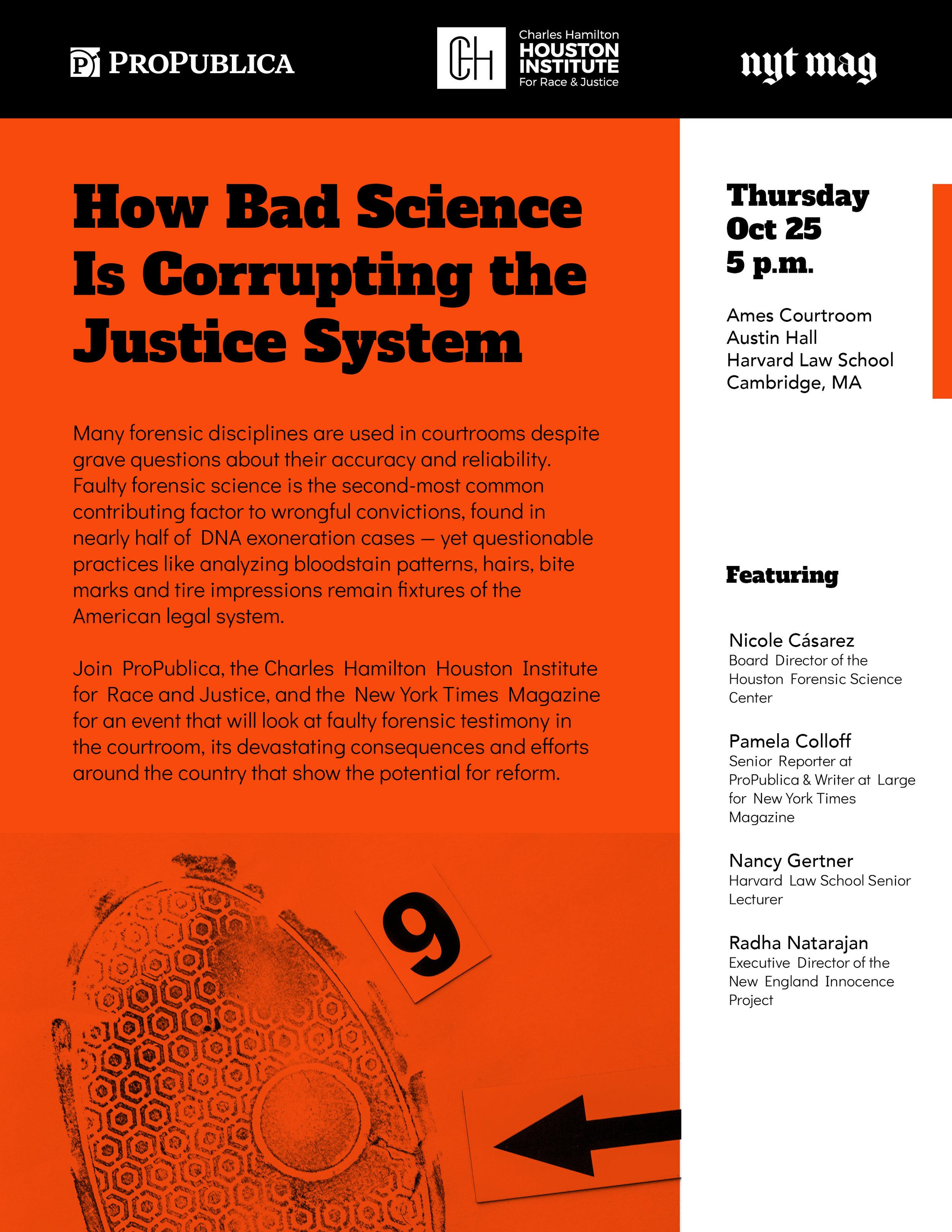 Event flyer, digital + print