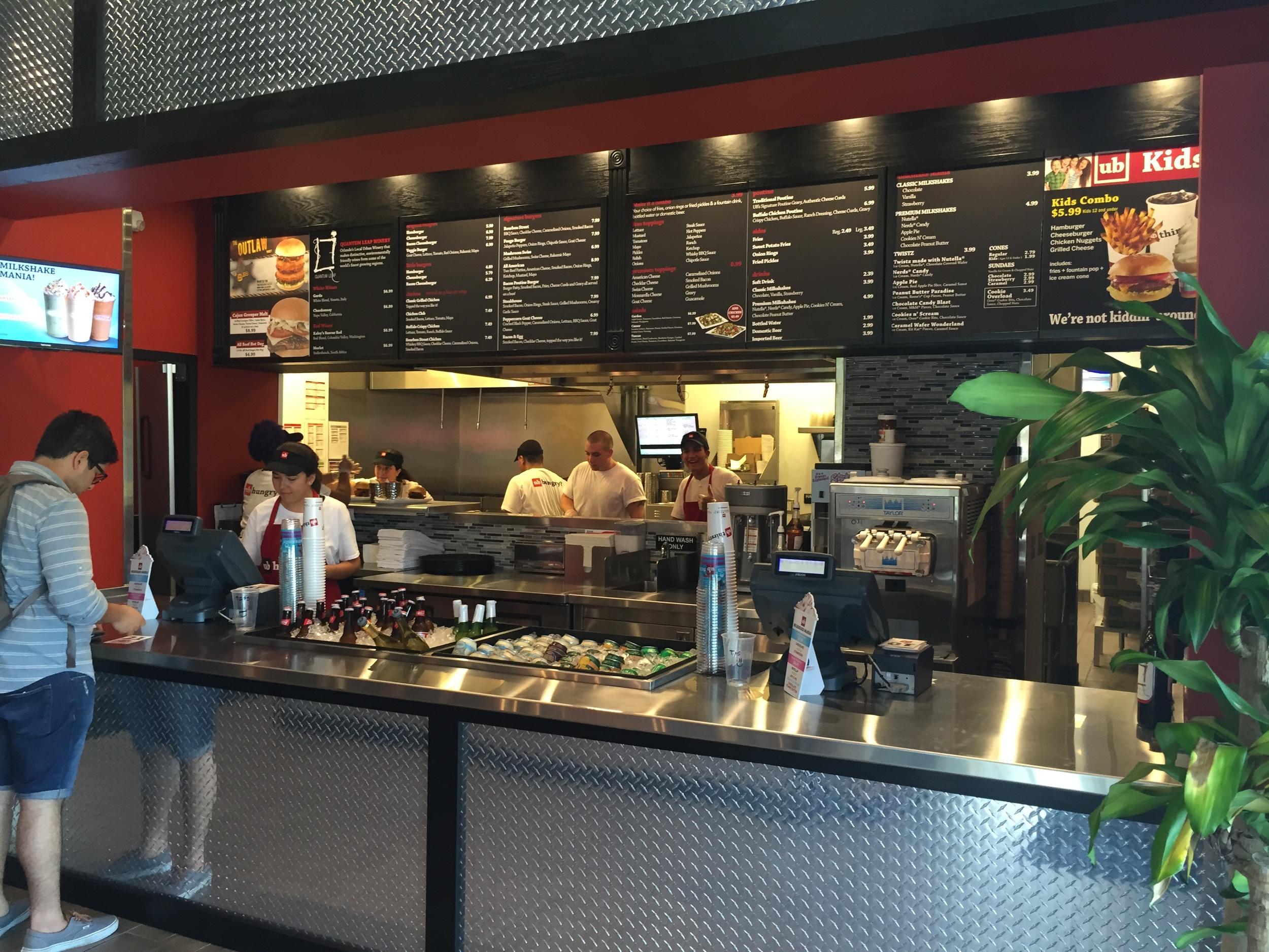 Inside Union Burger