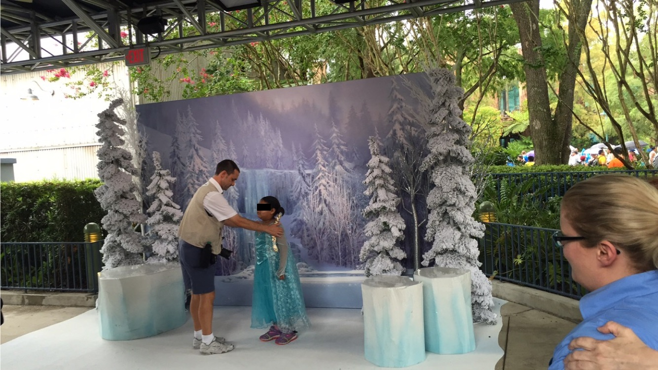 Photo Opportunity at the Ice Palace Boutique