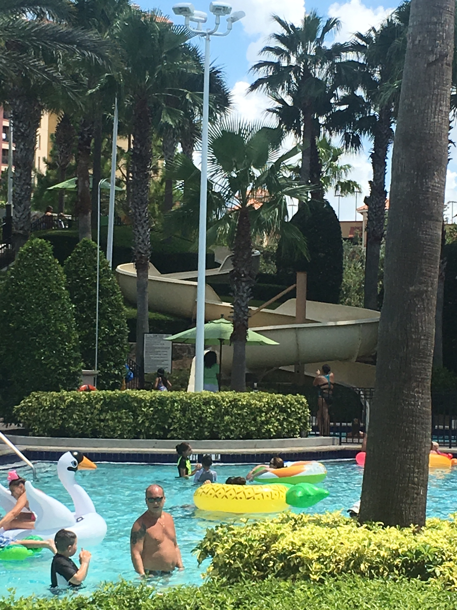 Swim or Slide? - Staycations are about trying new things. Go for it!