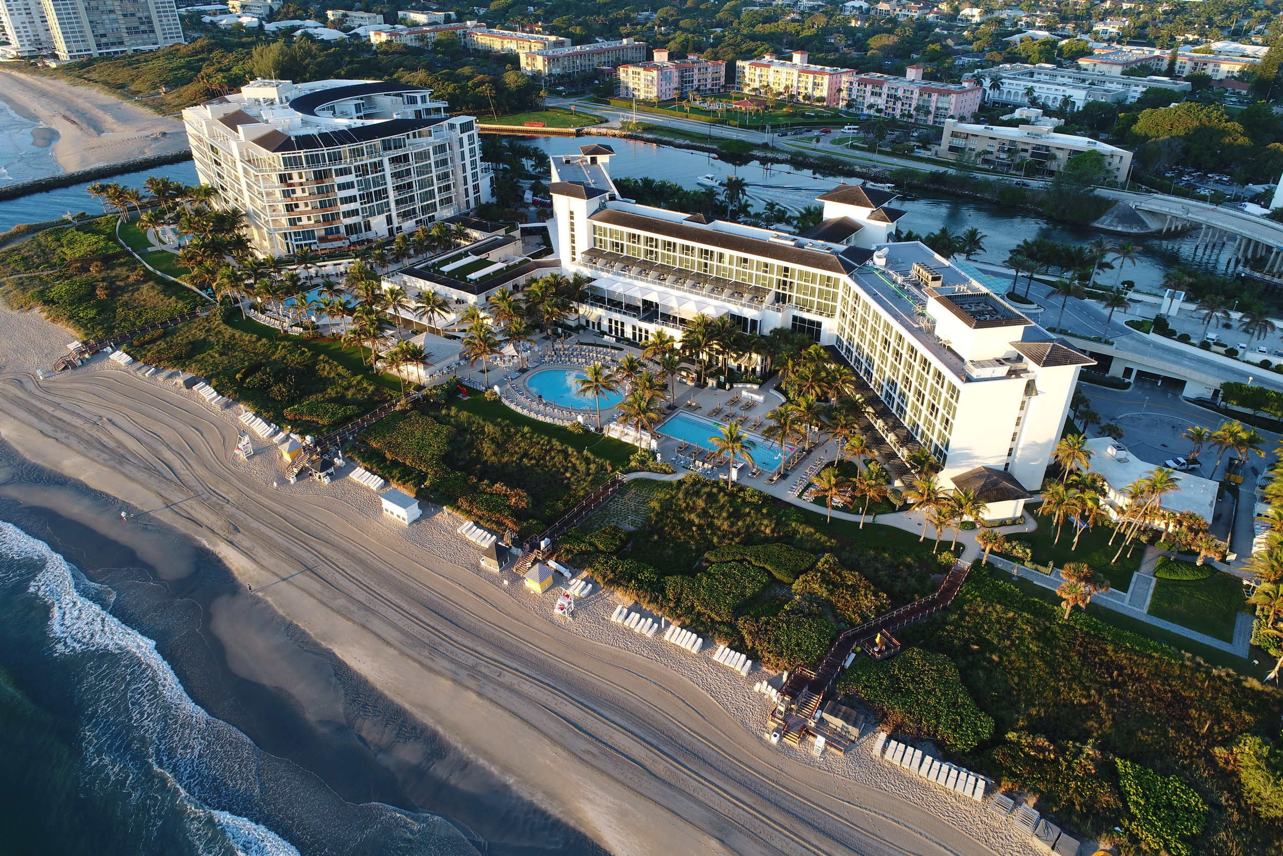 a Still from our recent video with The Boca Raton Resort (TV and Print Ads)