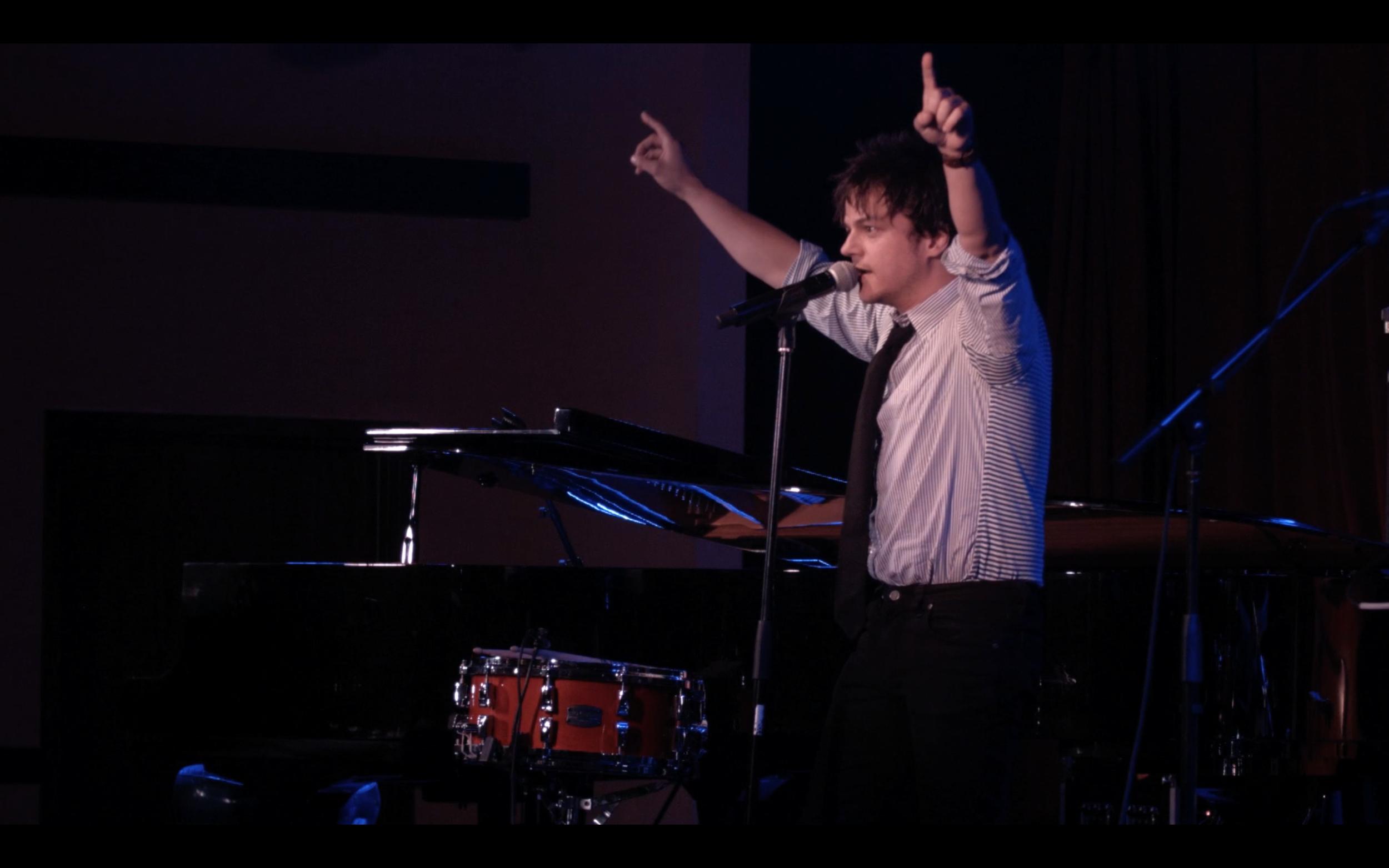 FIlming with Jamie Cullum - Award winning Jazz Musician ( Jamie Cullum - Shake It Off  )