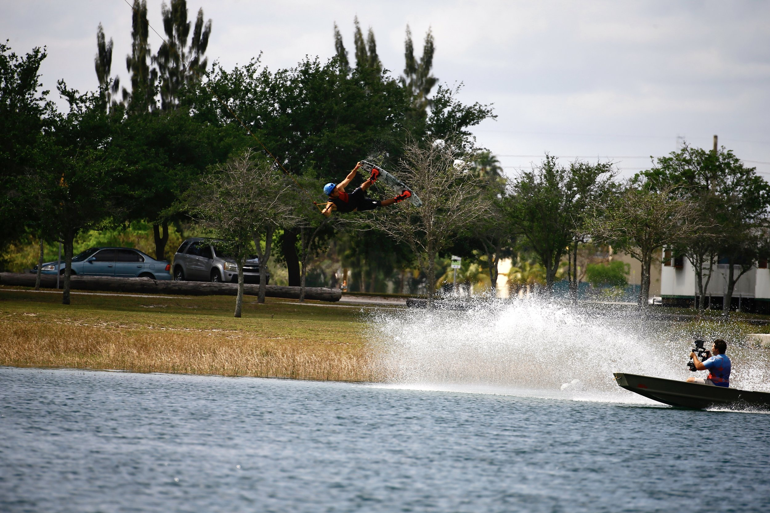 "Still taken during filming of ""The Magic Carpet"" - A Wakeboarding Film (Photo Taken by: Ignacio Hernandez)"