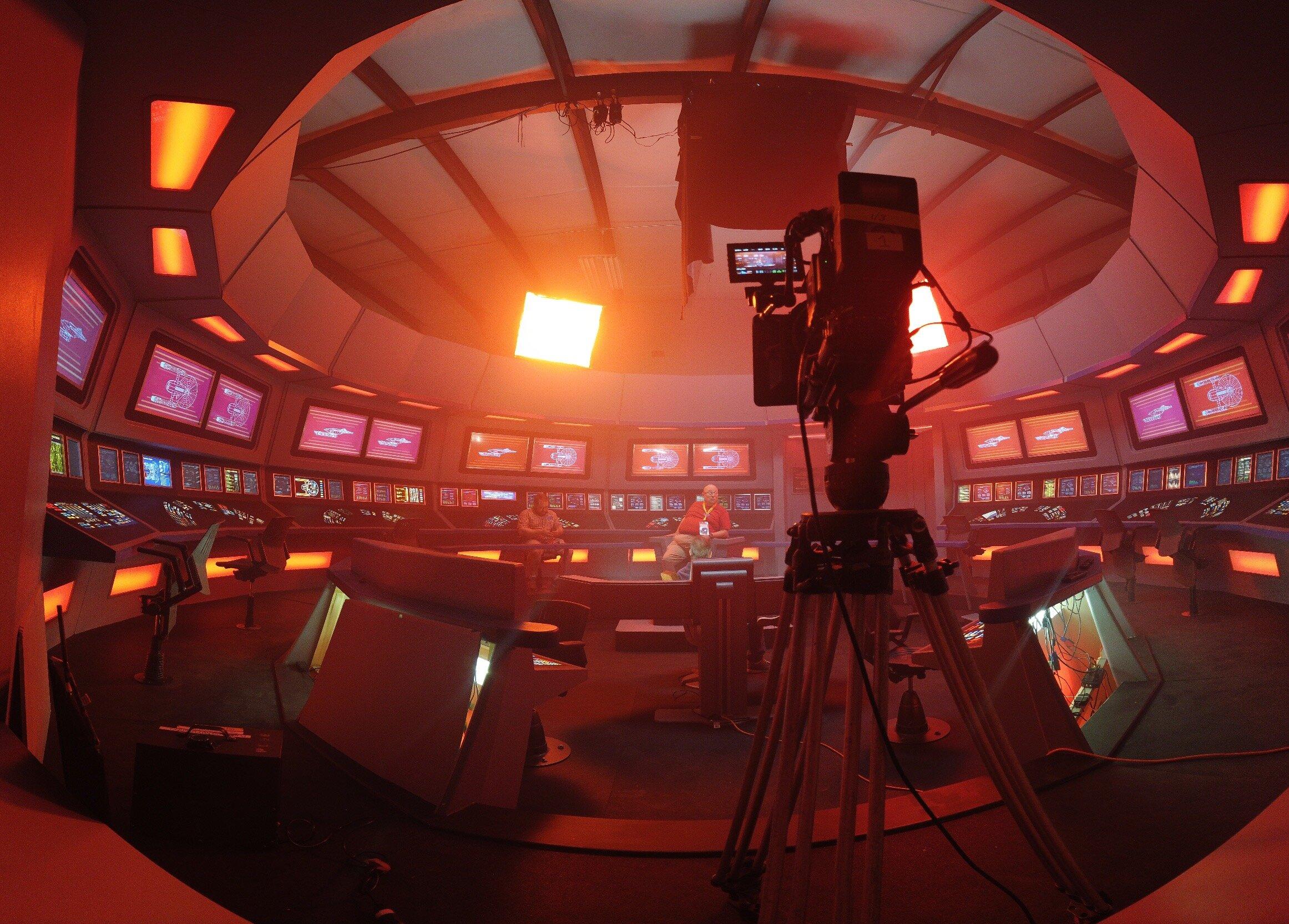Behind the scenes of Axanar - a Star Trek Fan film