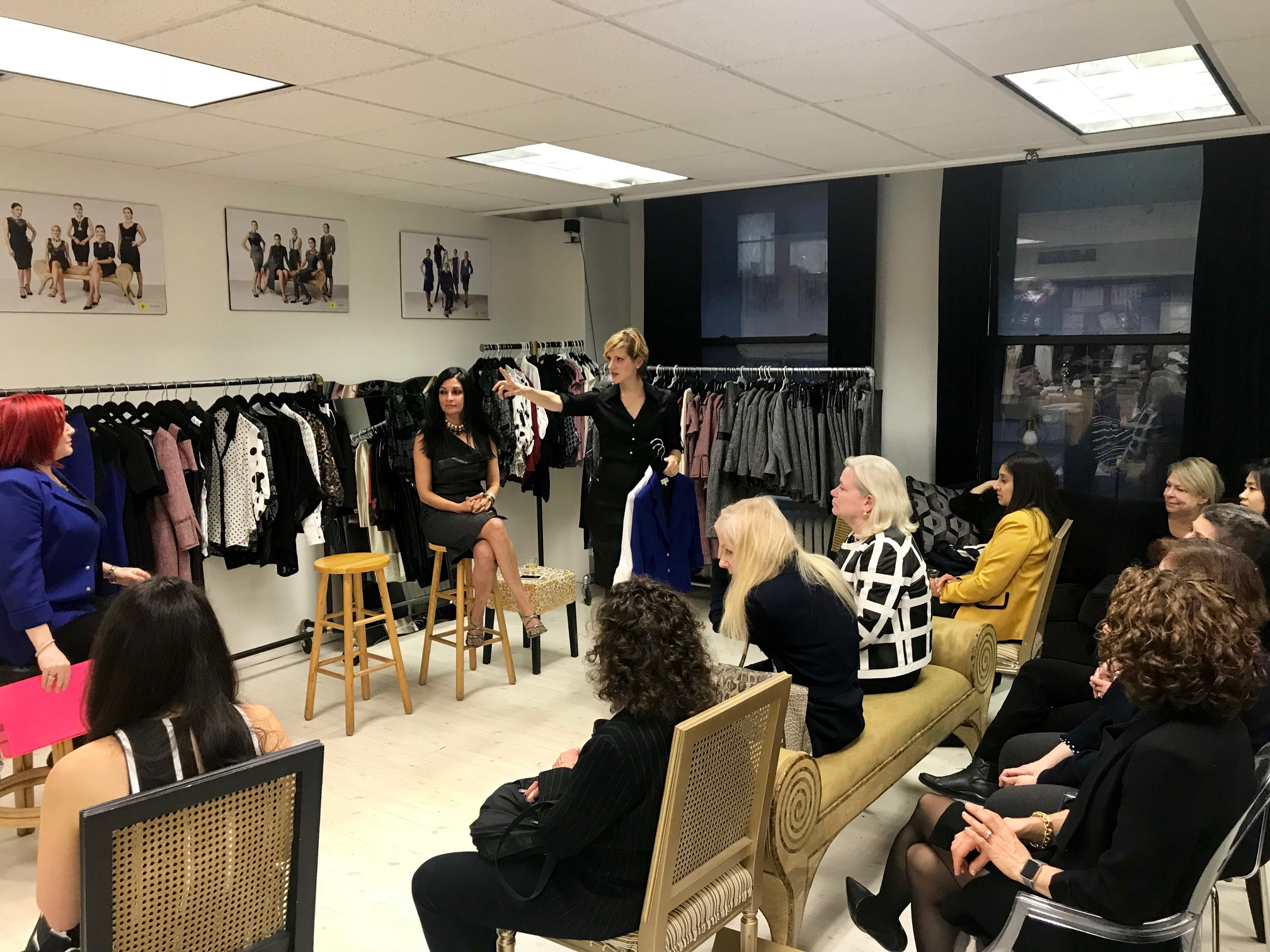 """""""Great presenter! Tania was great with giving my group of professional women tips on how to elevate their style. She even brought in actual items to show how mixing wardrobe staples with fun accessories can make a difference. Highly interactive presentation.""""   ~ Saran Johnson, Human Resources Director at Marcum LLP"""