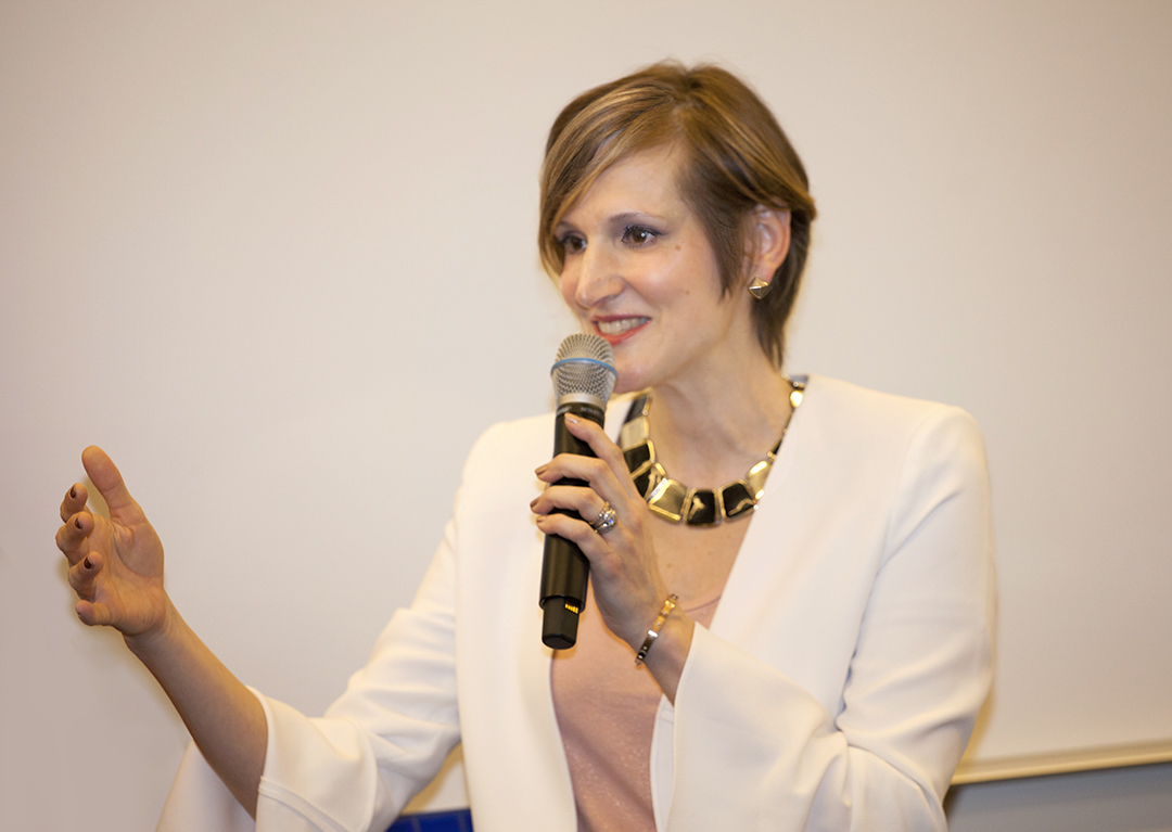 """""""Tania's presentation on helping women to transition their professional wardrobe from summer to autumn styles was very well received by our Women's Group. Tania's tips on how to be presentable and look professional and confident in a workplace were greatly appreciated by the audience. Wonderfully done!""""   ~ Oxana Olach, CPA & Tax Manager at Anchin, Block & Anchin LLP"""