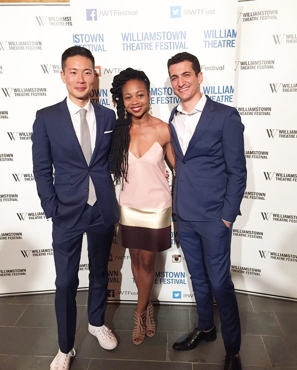 "Williamstown Theater Festival Launch with Jason Kim and Danny Sharron. ""The Model American"""