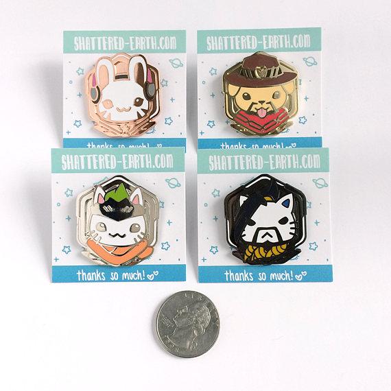 Overwatch Pins