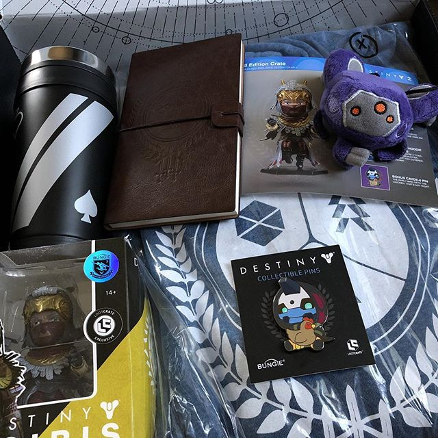 Destiny 2 Limited Edition Crate from @lootgaminghq #destiny2 #destiny #cayde6 #osiris #lootcrate #blindbox