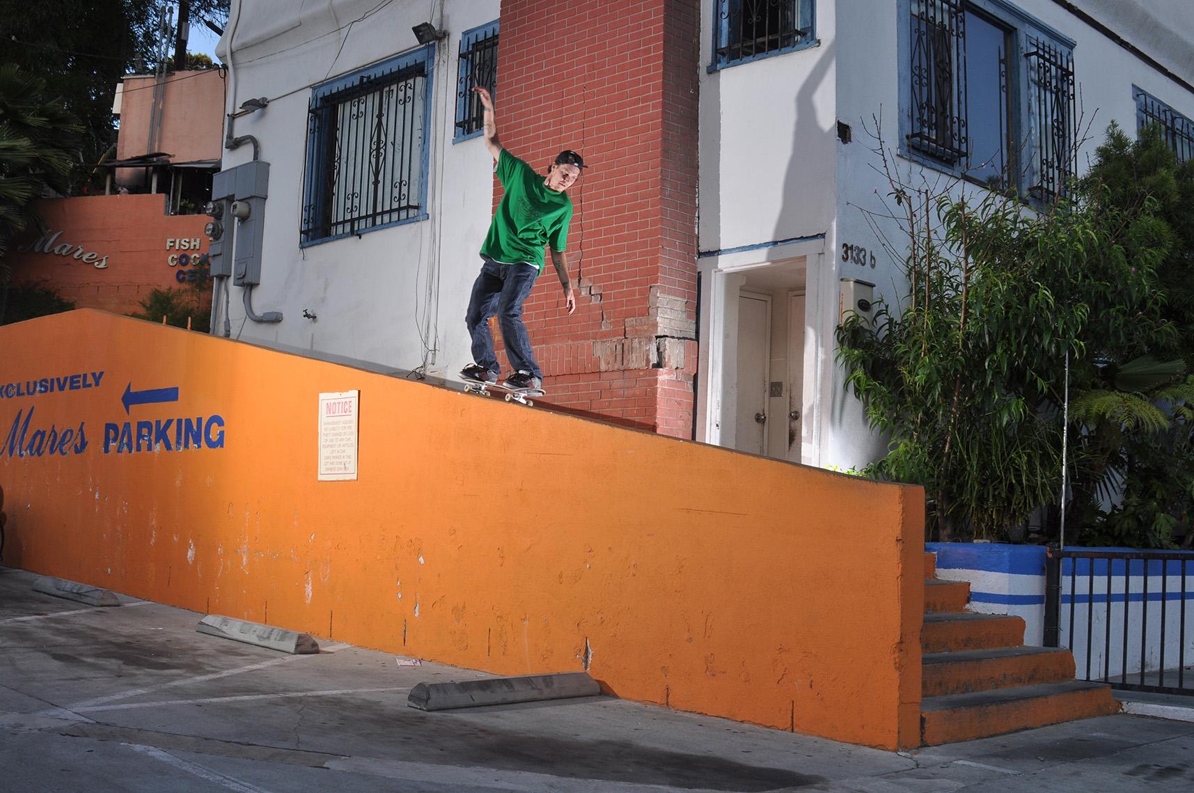 Nolan Lee - 50-50 180 out - Echo Park, Ca.
