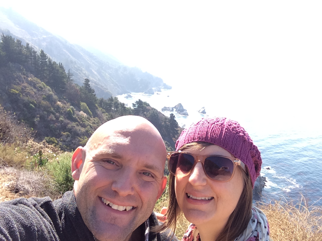 Buck and Kate in Big Sur