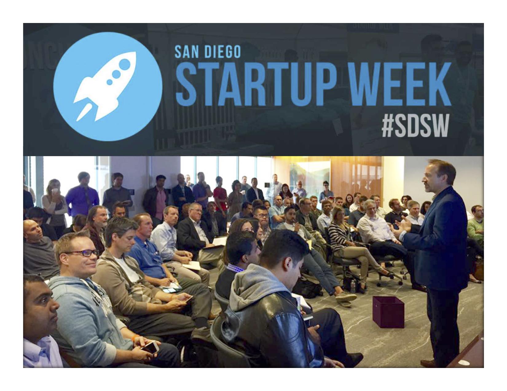 San Diego Startup Week #SDSW