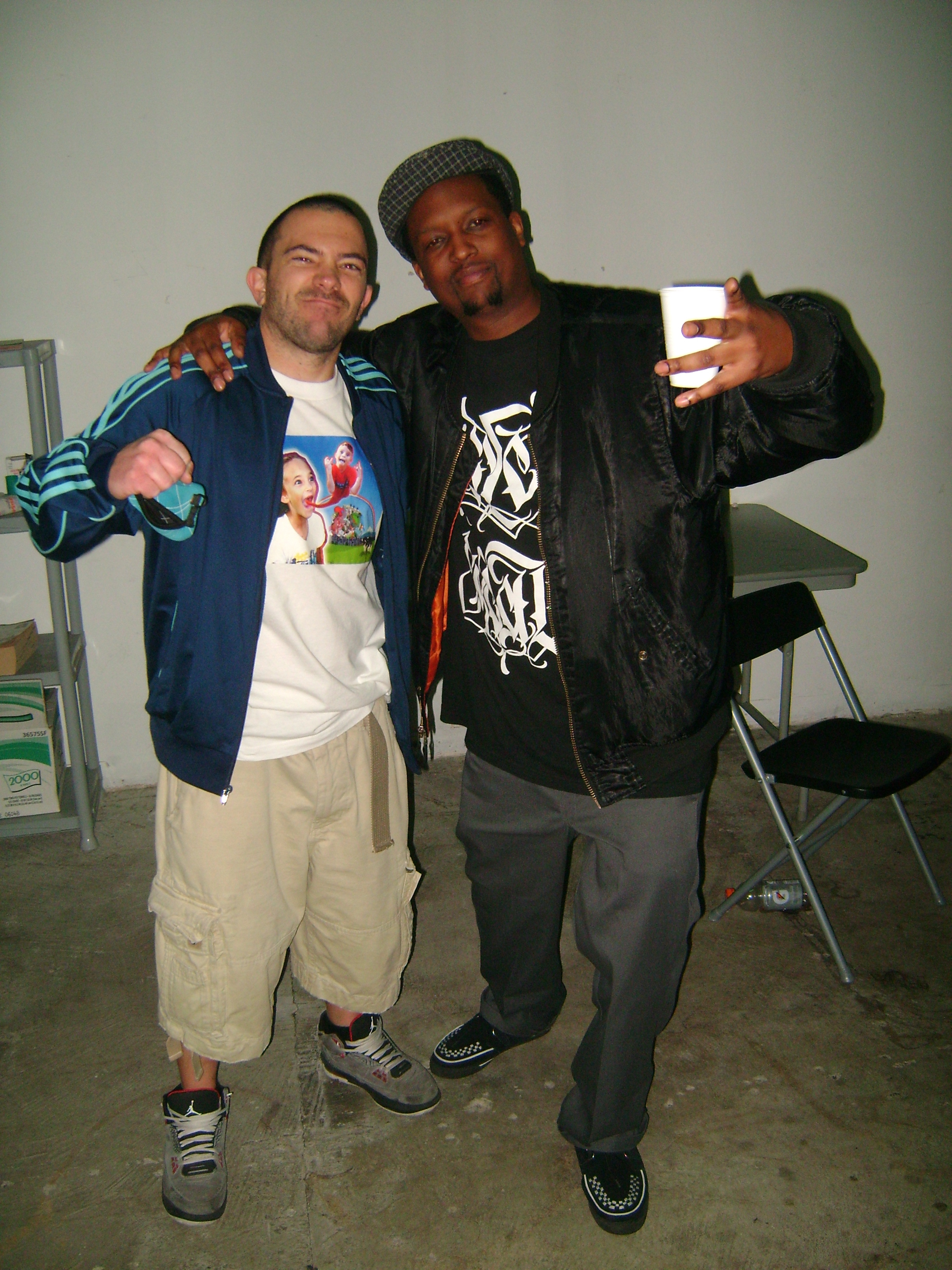 with Longevity. Opening for KRS One.