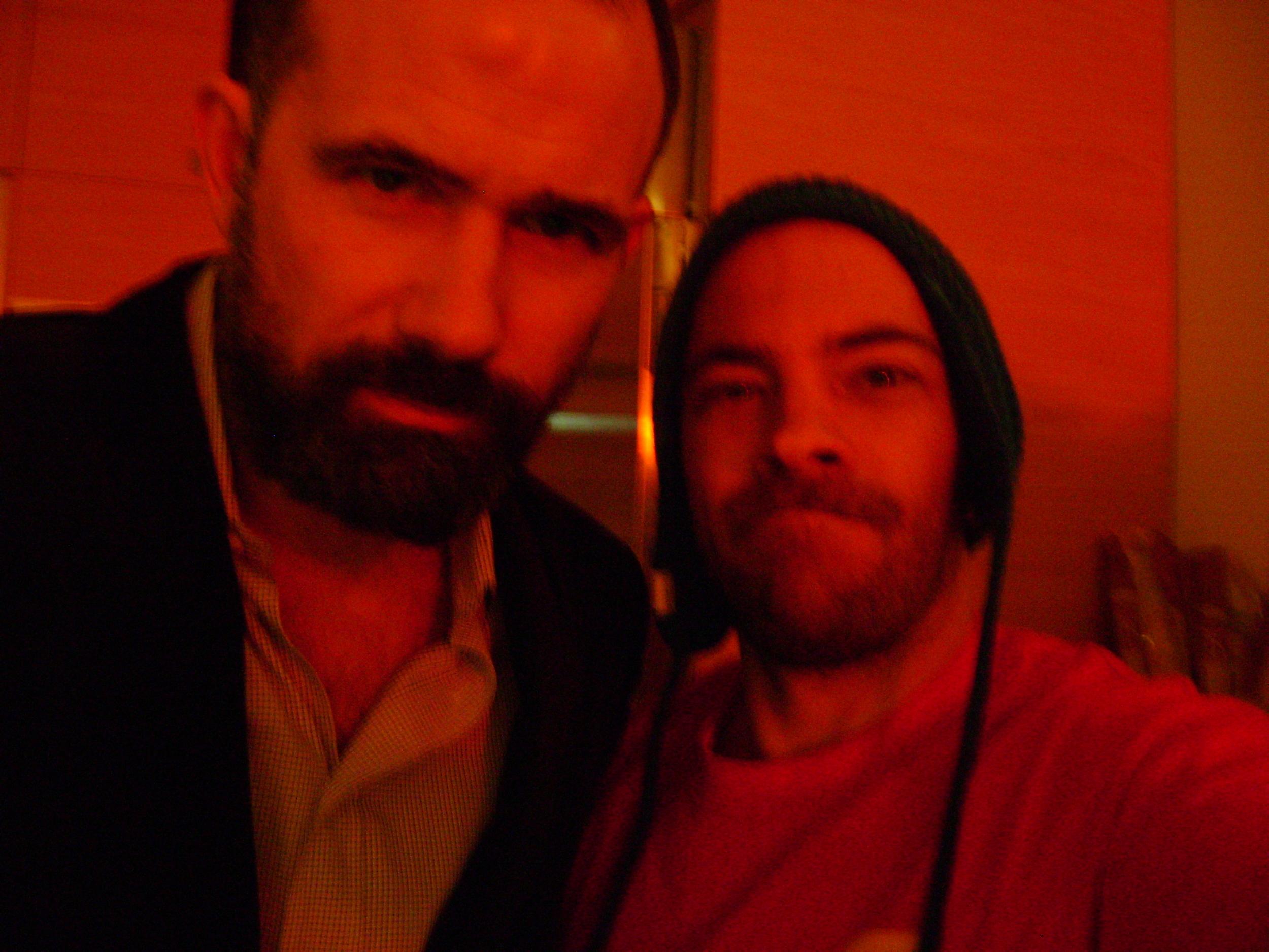 with Novelist, Mark Z. Danielewski