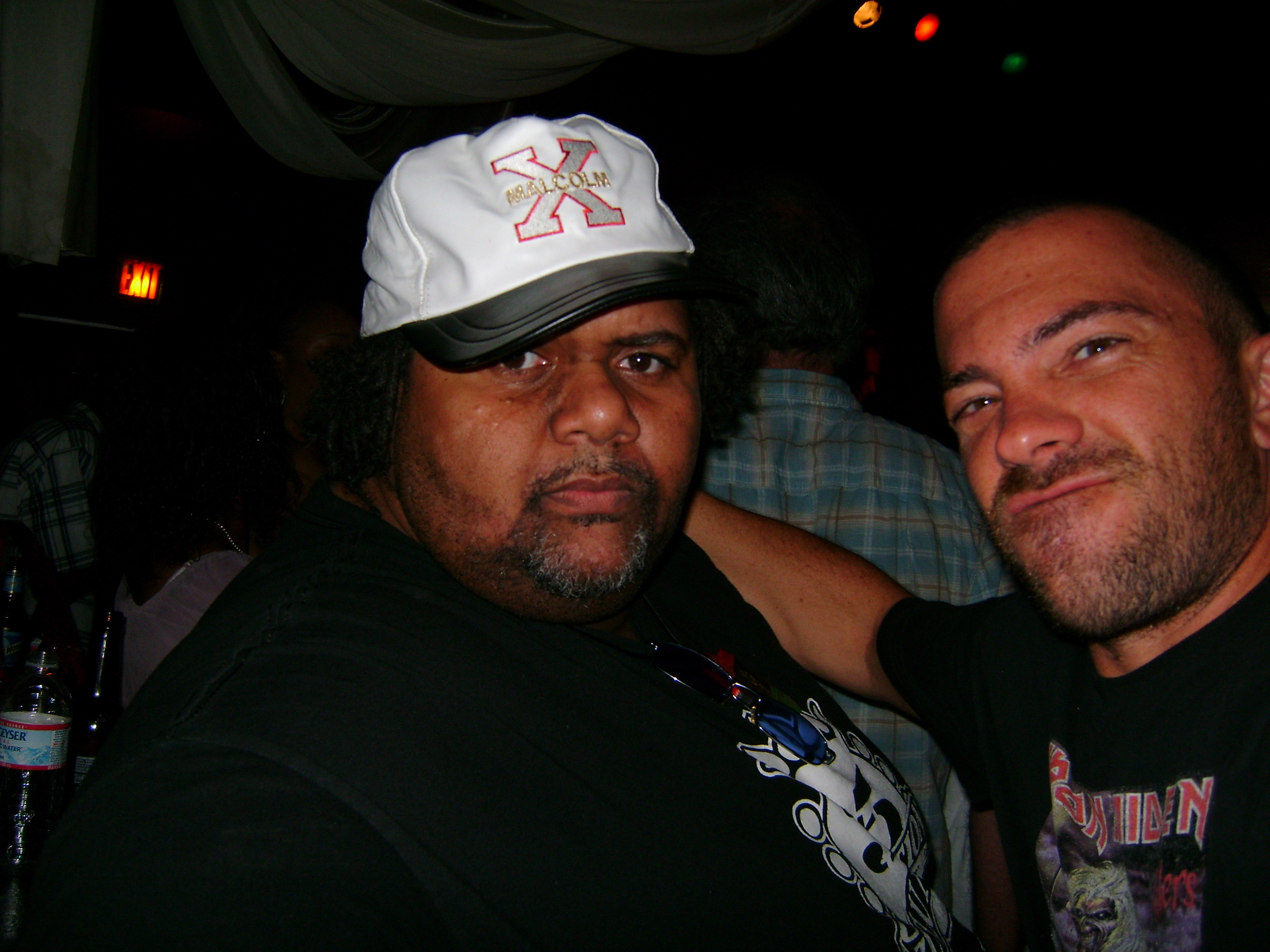 with L.A., DJ legend - Mark Luv