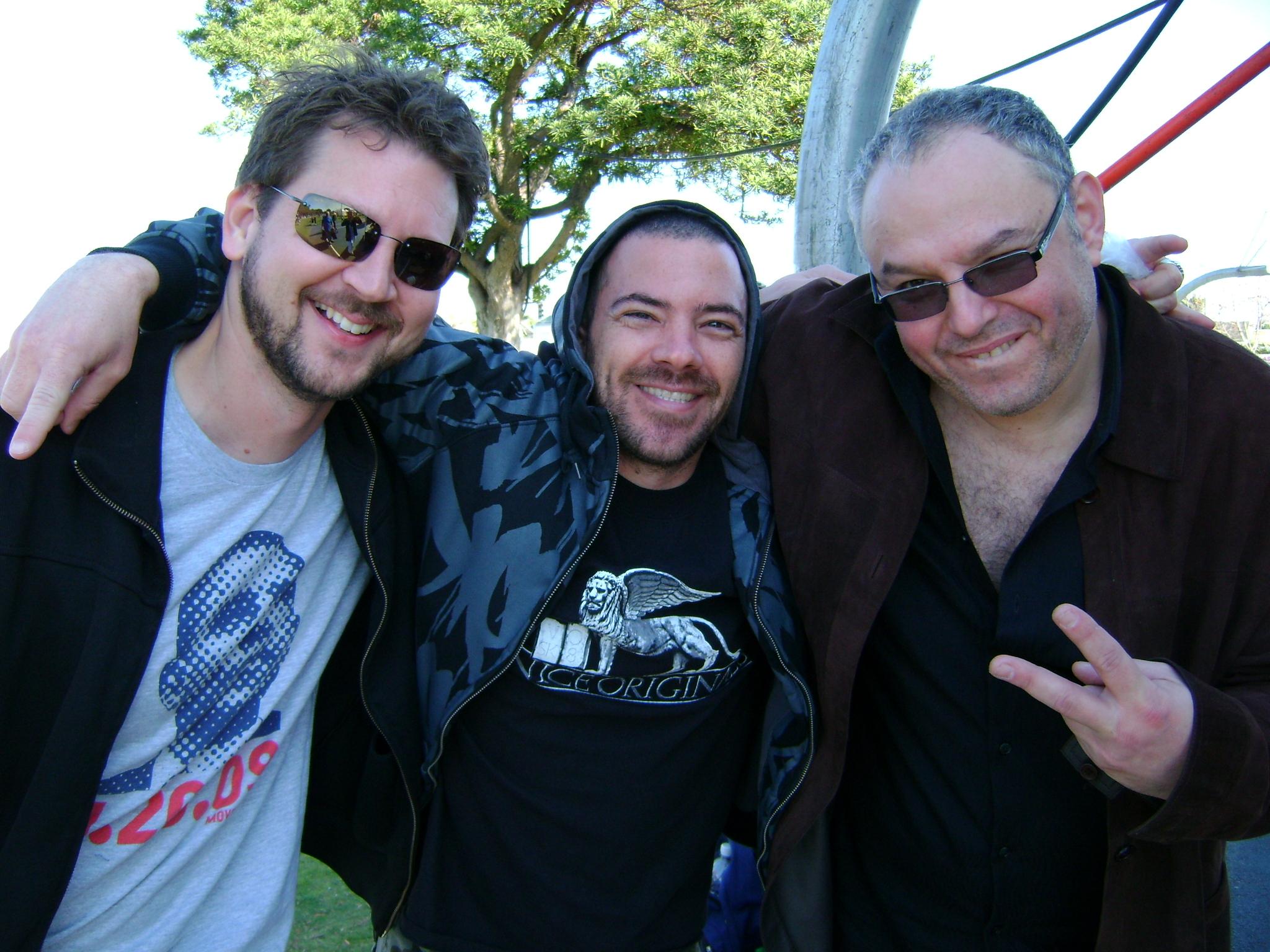 with Ken Burgomaster & guitarist, Vadim Zilbershtein